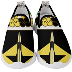 Coat Of Arms Of United States Army 49th Finance Battalion Kids  Slip On Sneakers