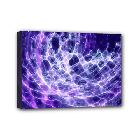 Abstract Space Mini Canvas 7  X 5  (stretched)