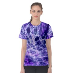 Abstract Space Women s Sport Mesh Tee