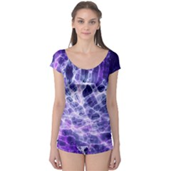 Abstract Space Boyleg Leotard