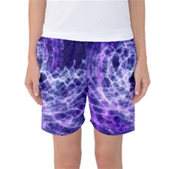Abstract Space Women s Basketball Shorts