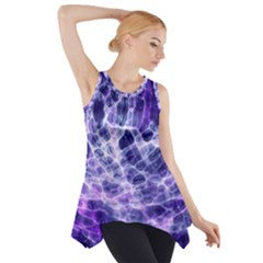 Abstract Space Side Drop Tank Tunic