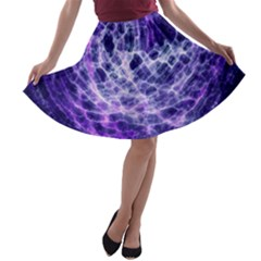 Abstract Space A Line Skater Skirt