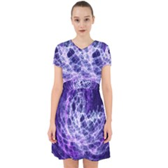 Abstract Space Adorable In Chiffon Dress