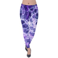 Abstract Space Velvet Leggings