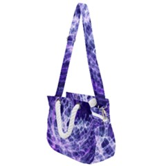Abstract Space Rope Handles Shoulder Strap Bag