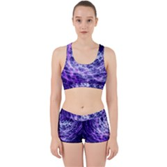 Abstract Space Work It Out Gym Set