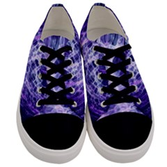 Abstract Space Men s Low Top Canvas Sneakers