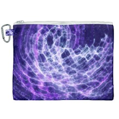 Abstract Space Canvas Cosmetic Bag (xxl)