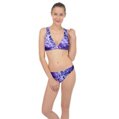 Abstract Space Classic Banded Bikini Set