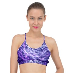 Abstract Space Basic Training Sports Bra