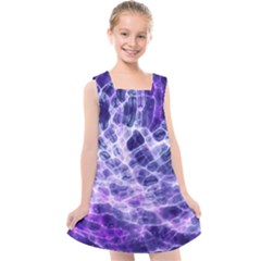 Abstract Space Kids  Cross Back Dress