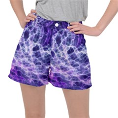 Abstract Space Ripstop Shorts
