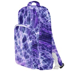 Abstract Space Double Compartment Backpack