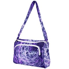 Abstract Space Front Pocket Crossbody Bag