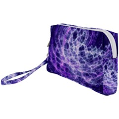 Abstract Space Wristlet Pouch Bag (small)