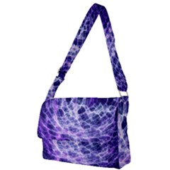 Abstract Space Full Print Messenger Bag (l)