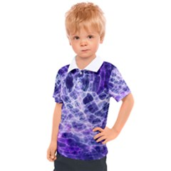 Abstract Space Kids  Polo Tee