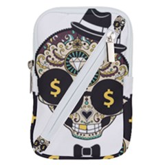 Big Money Head Belt Pouch Bag (large)