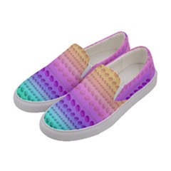Hamburger Ombre Women s Canvas Slip Ons by Lotus