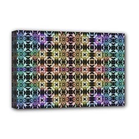 Abstrait Formes Colors Deluxe Canvas 18  X 12  (stretched)