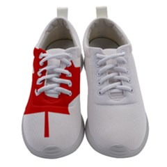 Canadian Flag Women Athletic Shoes by goljakoff