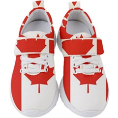 Flag Of Canada Kids  Velcro Strap Shoes by goljakoff