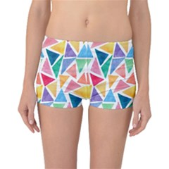 Rainbow Triangles Boyleg Bikini Bottoms