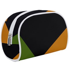 Trio Colors Noir/vert/orange Makeup Case (large)