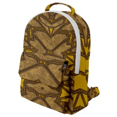 Art Deco 21 Flap Pocket Backpack (small)