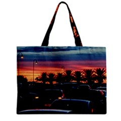 Urban Sunset Scene, Punta Del Este   Uruguay Mini Tote Bag