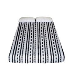 Minimalistic Pattern Fitted Sheet (full/ Double Size) by goljakoff