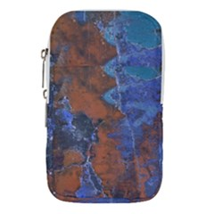 Grunge Colorful Abstract Texture Print Waist Pouch (large)