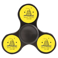 Gadsden Flag Don t Tread On Me Yellow And Black Pattern With American Stars Finger Spinner