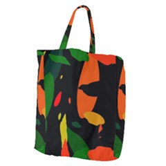 Pattern Formes Tropical Giant Grocery Tote by kcreatif