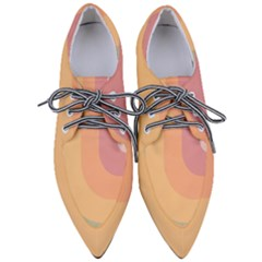 Pastel Summer Women s Pointed Oxford Shoes