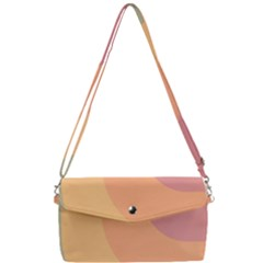 Pastel Summer Removable Strap Clutch Bag