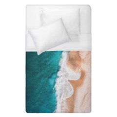 Sea Waves Duvet Cover (single Size) by goljakoff