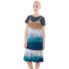 Sea Waves Camis Fishtail Dress