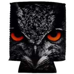 Owl Fire Eyes Can Holder