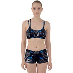 Owl Blue Eyes Perfect Fit Gym Set