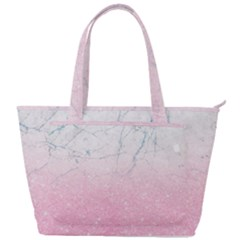 Pink Glitter Marble Back Pocket Shoulder Bag