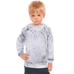 Gray Marble Kids  Hooded Pullover by goljakoff