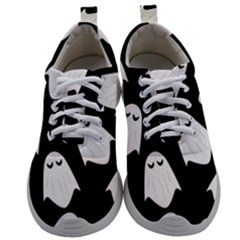 Ghost Halloween Pattern Mens Athletic Shoes