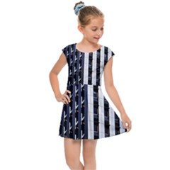 Architecture Building Pattern Kids  Cap Sleeve Dress by Amaryn4rt
