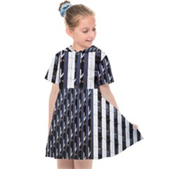 Architecture Building Pattern Kids  Sailor Dress by Amaryn4rt