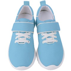 Baby Blue Women s Velcro Strap Shoes by ArtMuseum
