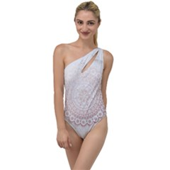 Rose Gold Mandala To One Side Swimsuit by goljakoff