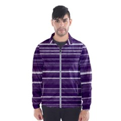 Bandes Peinture Violet  Men s Windbreaker by kcreatif