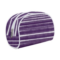 Bandes Peinture Violet  Makeup Case (small) by kcreatif
